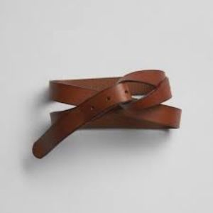 Gap Brown Leather Loop Belt